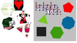 Alice in GeoGebra land. Matching puzzle