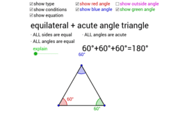 Triangle Names and Angle Sum (Interior and Exterior)