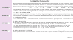 Números romanos (Conceptos y Actividades)