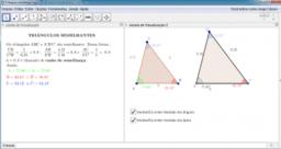 Semelhança de triângulos e potência de ponto