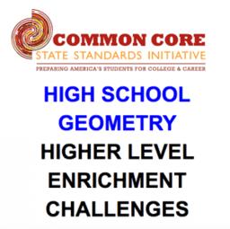 CCSS High School: Geometry (Challenges)