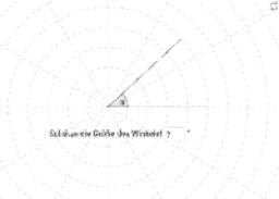 Winkel schätzen und messen