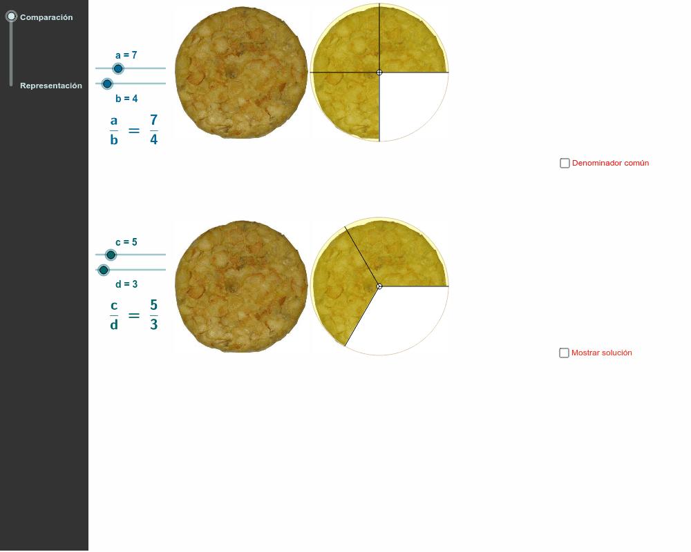 Fracciones. Fracciones equivalentes