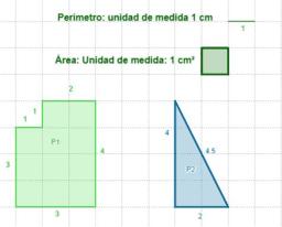 Actividad 0. Perímetros y áreas