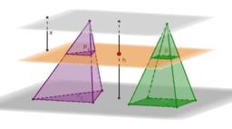 Presječna područja piramida