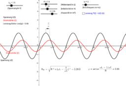 Widerstand und Phasenverschiebung im RLC-Kreis