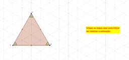 Animação - rotação de um triângulo equilátero