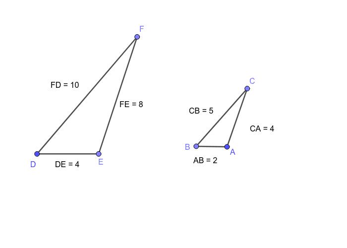 triangoli simili 1