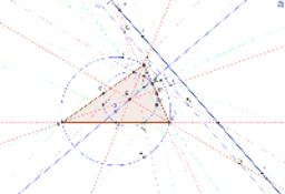 Détermination du centre du cercle d'Euler