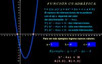 Función cuadrática ( intersecciones con el eje x )