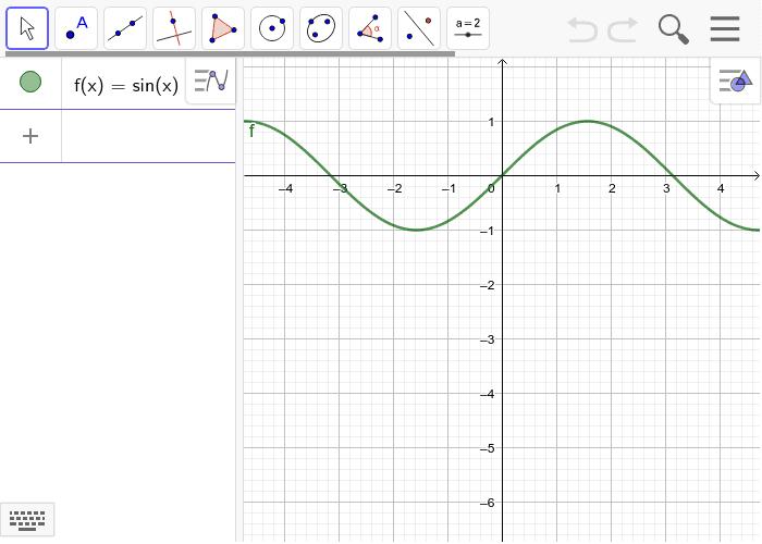 Haz visibles las raíces (intersecciones con el eje x) de la función