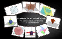 GEOGEBRA 3D NO ENSINO MÉDIO: UMA POSSIBILIDADE