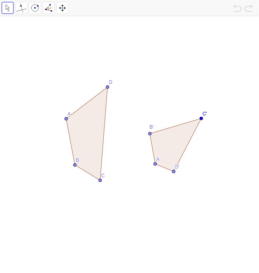 Decida se os quadriláteros a seguir são ou não inscritíveis numa circunferência.