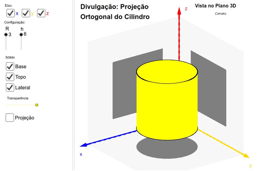 Projeto Final: Projeção Ortogonal dos Sólidos Geométricos