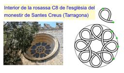 Rosassa C8. Santes Creus