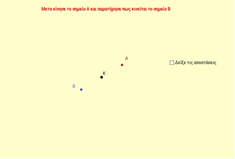 Συμμετρία ως προς κέντρο ( ελεύθερο )
