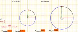 Angulo central y longitud de arco