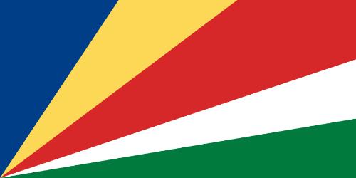 Seychellerne - Sidelængderne er i forholdet 2:1