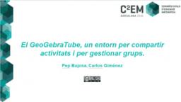 Taller de gestió de materials compartits de GeoGebra
