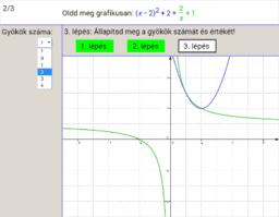 Egyenletek grafikus megoldása 12.