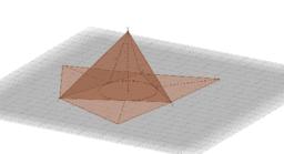 Superfici della piramide retta