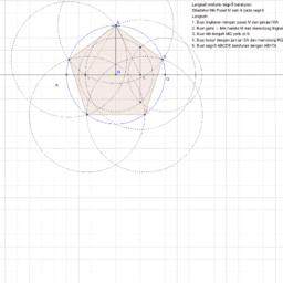 melukis segilima beraturan_1