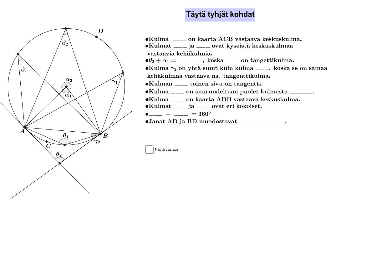 Harjoitustehtävä C1