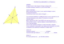 Baricentro triangolo