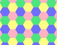 Des polygones réguliers translatés