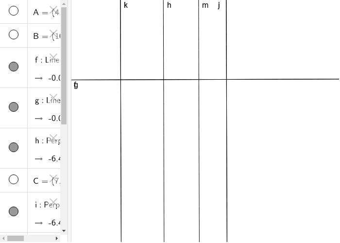 ecco a voi le rette perpendicolari più perfette di un geometra esperto Premi Invio per avviare l'attività