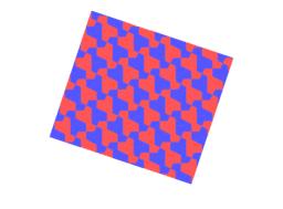 Pythagorean Tessellation # 108