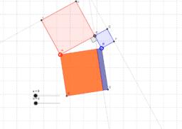 Bevis på Pythagoras teorem enligt Gardner