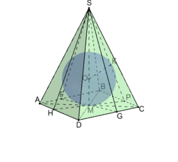 Куля в 4-кутній піраміді2