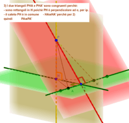 Teorema delle tre perpendicolari