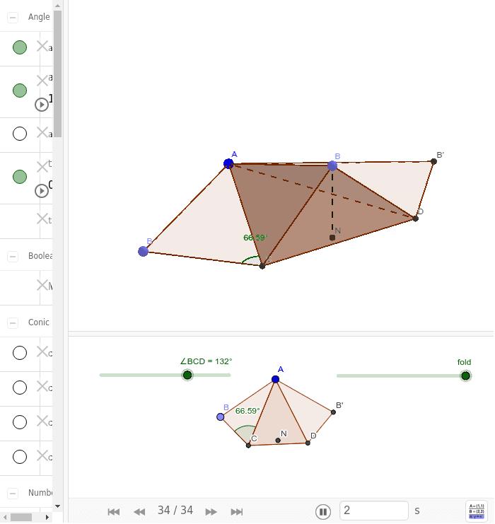 Task_B': Paper folding (Modified) 按 Enter 鍵開始活動