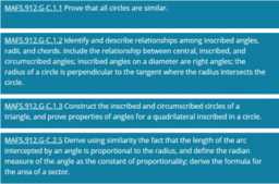 Circles (C) Cluster