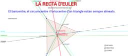 LA RECTA D'EULER