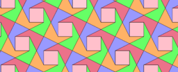 Pythagorean Theorem by Tessellation # 58 Tiling