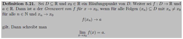 [size=85](vgl. Hinrichs, A.: Analysis 1, Vorlesungsnotizen, Wintersemester 2015/2016, Johannes Kepler Universität Linz)[/size]