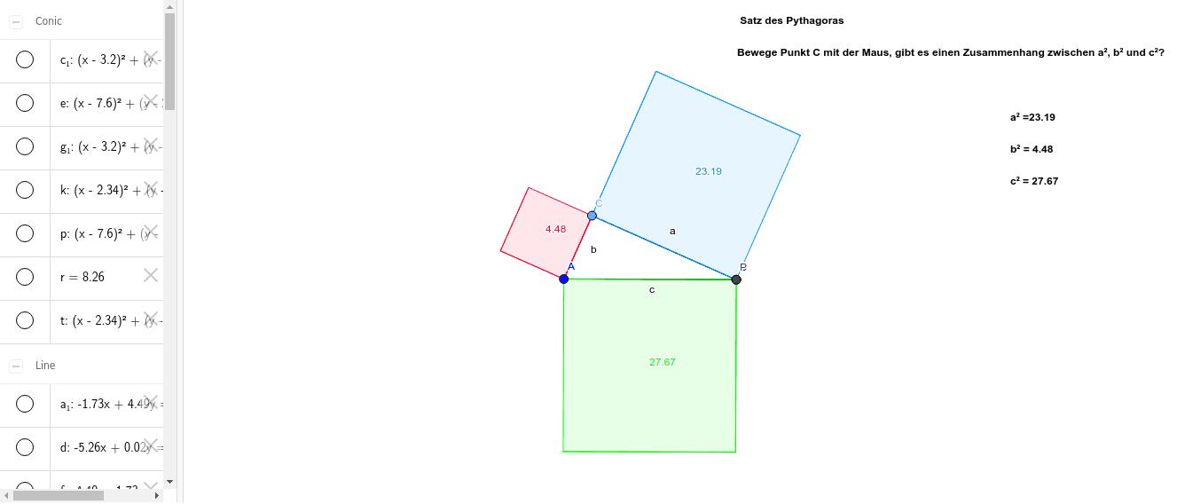 Satz des Pythagoras 1