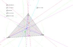 Die besonderen Punkte im Dreieck