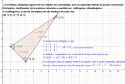 Geometría 1 - Algunos Apuntes y Problemas de clases