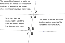 Introduction to Lines & Angles