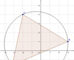 Umkreis allgemeines Dreieck