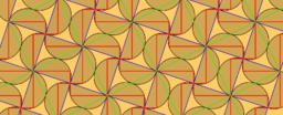 Pythagorean Tessellation # 40 Tiling