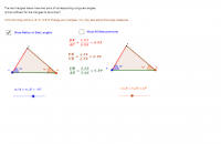 A A Shortcut Test for Similar Triangles
