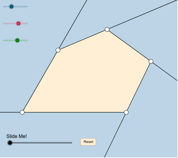 Exterior Angles of a Pentagon Press Enter to start activity