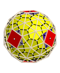 n=48 Polyhedron Computer construction. Lowering the accuracy