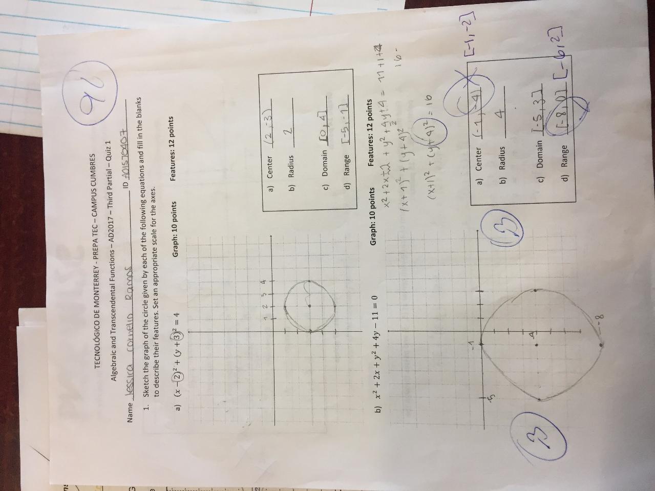 Quiz 1, 3rd Partial