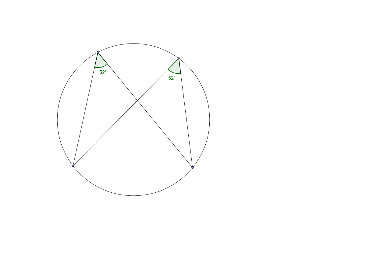 Circle Theorem 3 - Angles in the Same Segment